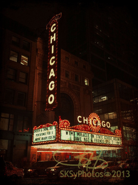 Chicago! Love being downtown.